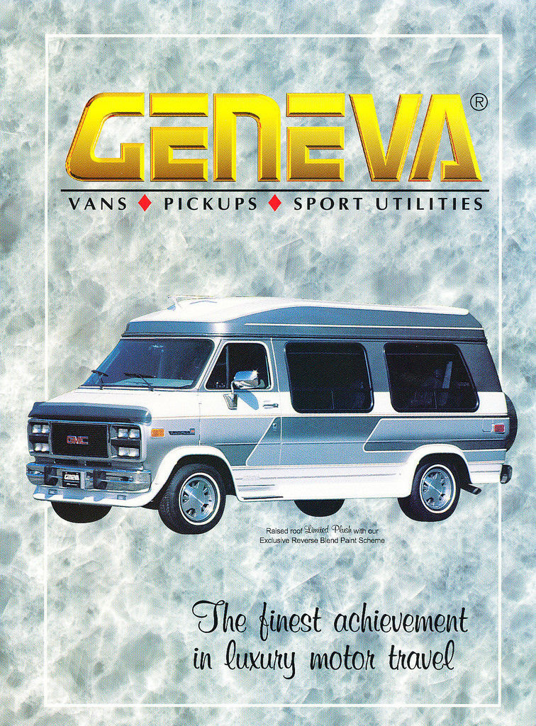 Gmc Conversion Van >> Chevy and GMC Suburban Geneva Conversion Packages
