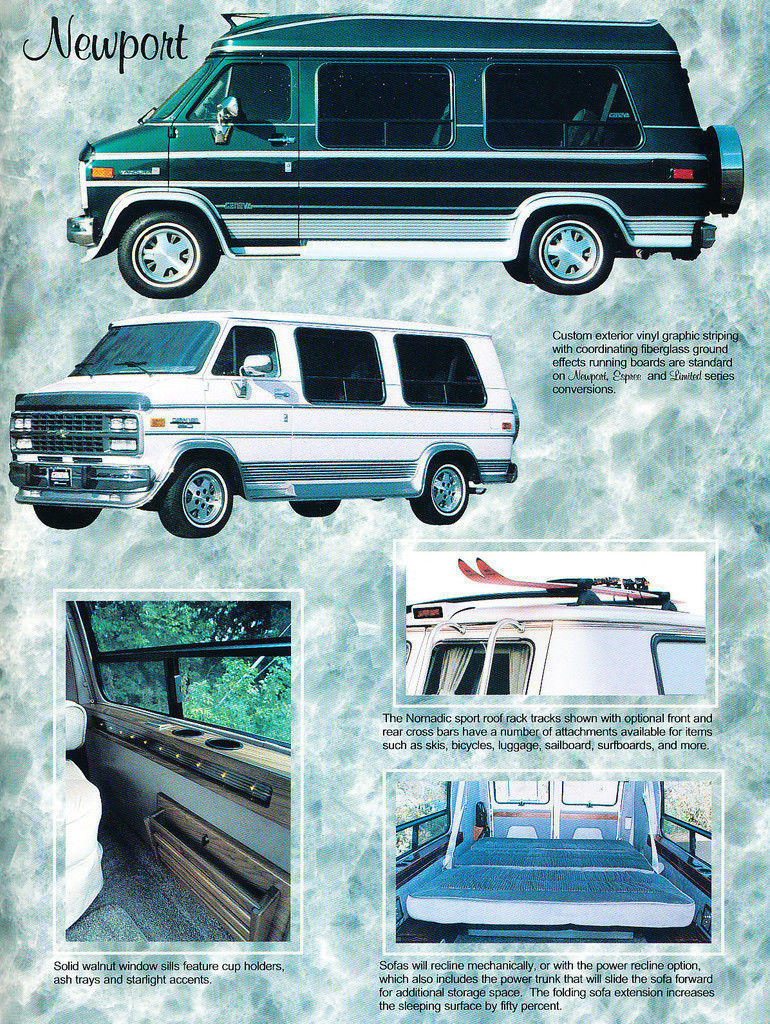 Chevy And Gmc Suburban Geneva Conversion Packages 1988 Truck Wiring Harness Ebay Found On 1993 1994 Chevrolet Van Sales Brochure 3 Pages