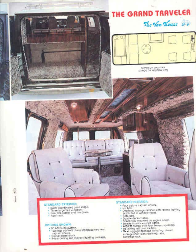 1990 Chevy Suburban Van House Conversion Packages