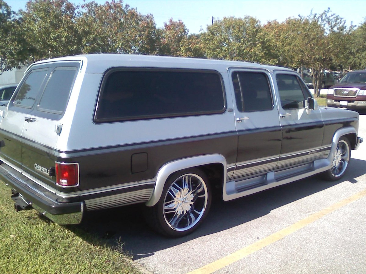 1990 Chevy And Gmc Suburbans Quicksilver Metallic Paint Color