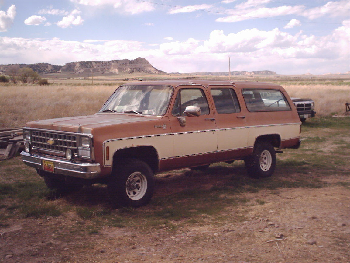 3 4 Ton Suburban >> 1980 Chevrolet Suburban Photos and Information