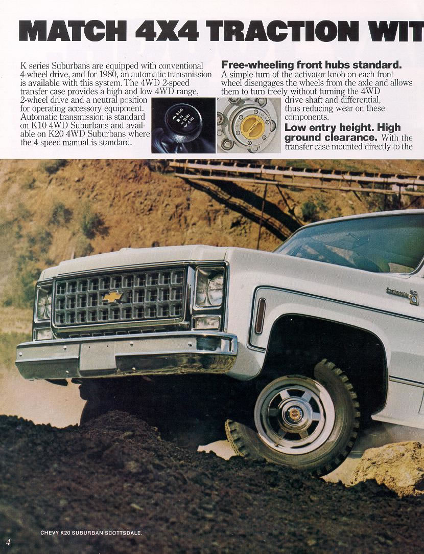 1980 Chevrolet Suburban Photos And Information Chevy Truck Transmission Some Great Examples Of