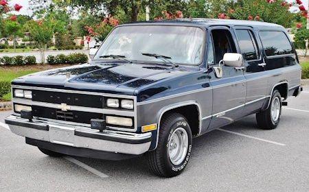 View The 1989 Chevrolet Suburban Photo Gallery 9 Examples