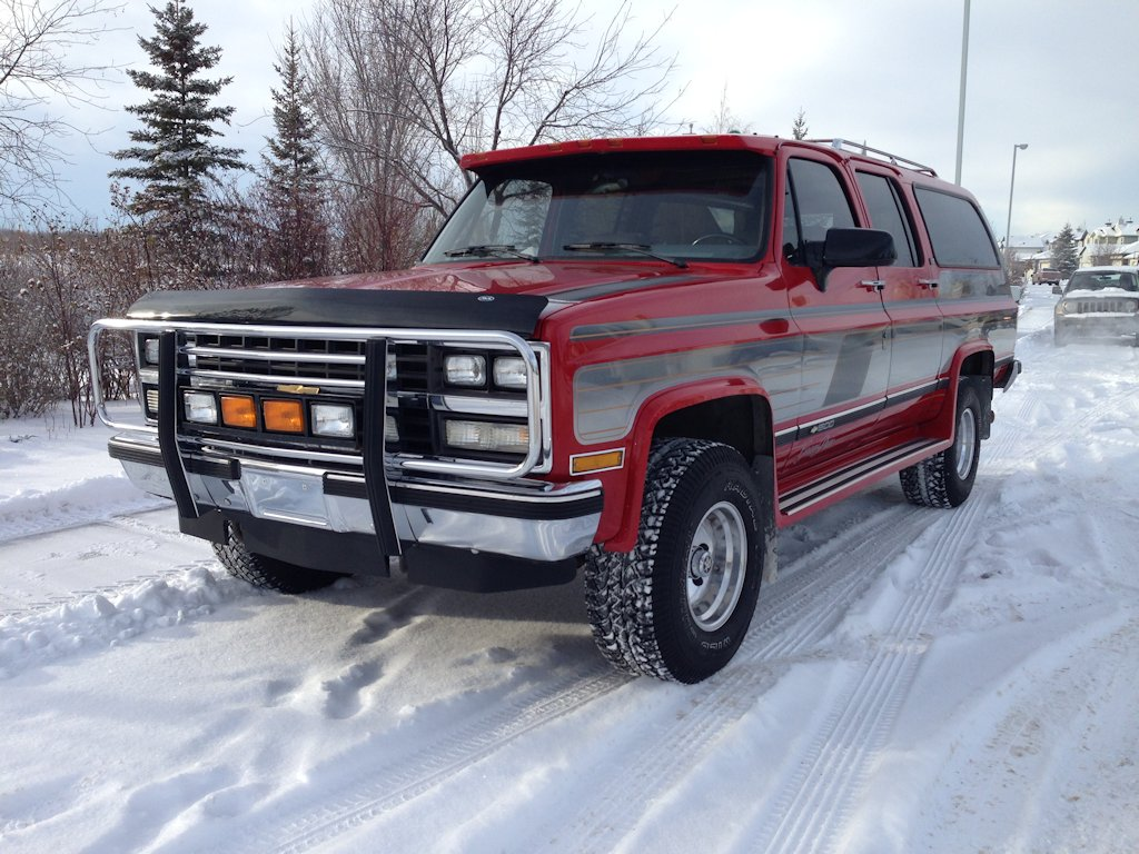 1990 Chevy Suburban Gran Prix Body And Paint